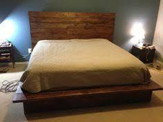 how to build a modern style platform bed wooden platform bed