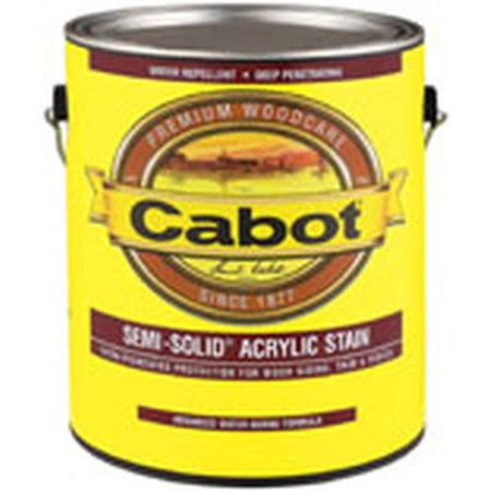 Cabot Semi-Solid Water Based Stain - 1g, 1106 Neutral Base