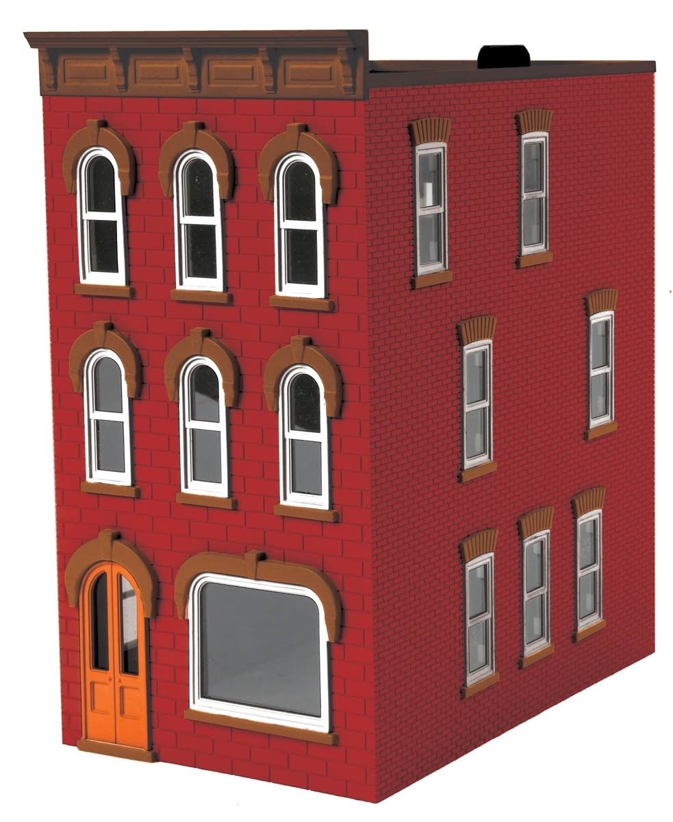 3 Story Town House Red/Brown