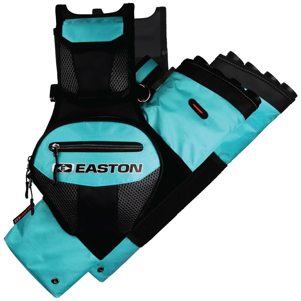Easton 4 Tube Flipside Quiver - Teal, Right Hand and Left Hand