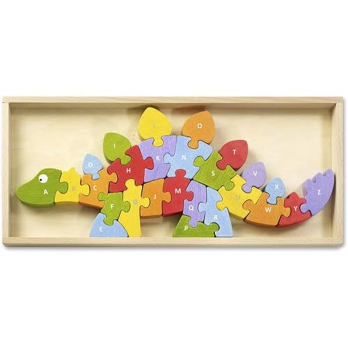 BeginAgain Dinosaur A to Z Puzzle