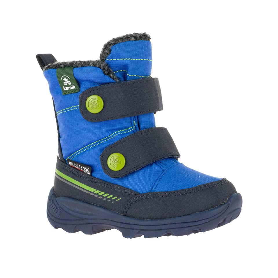 Infant Kamik Pep Waterproof Boot, Size: 7, Blue