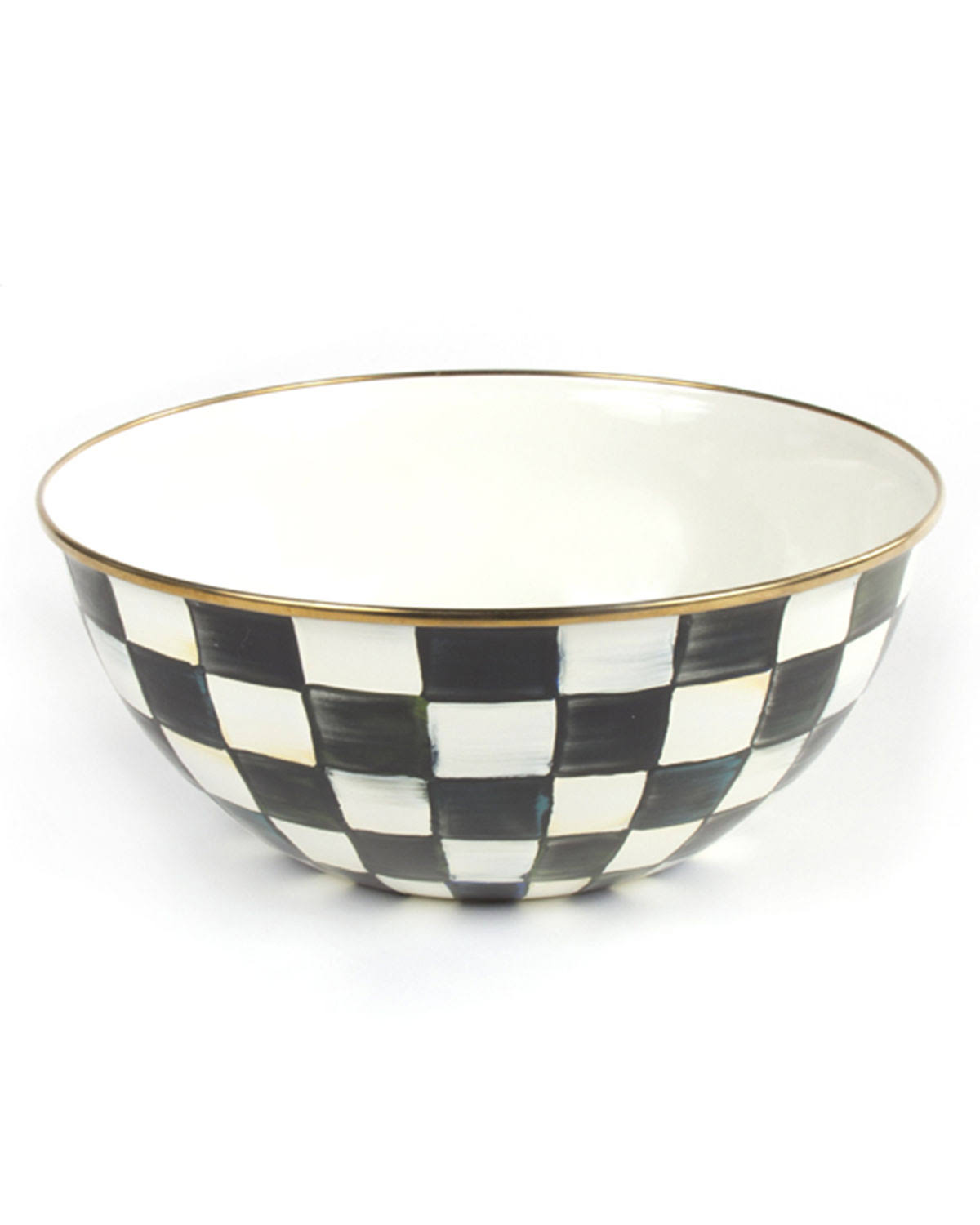 MacKenzie-Childs Courtly Check Large Everyday Bowl