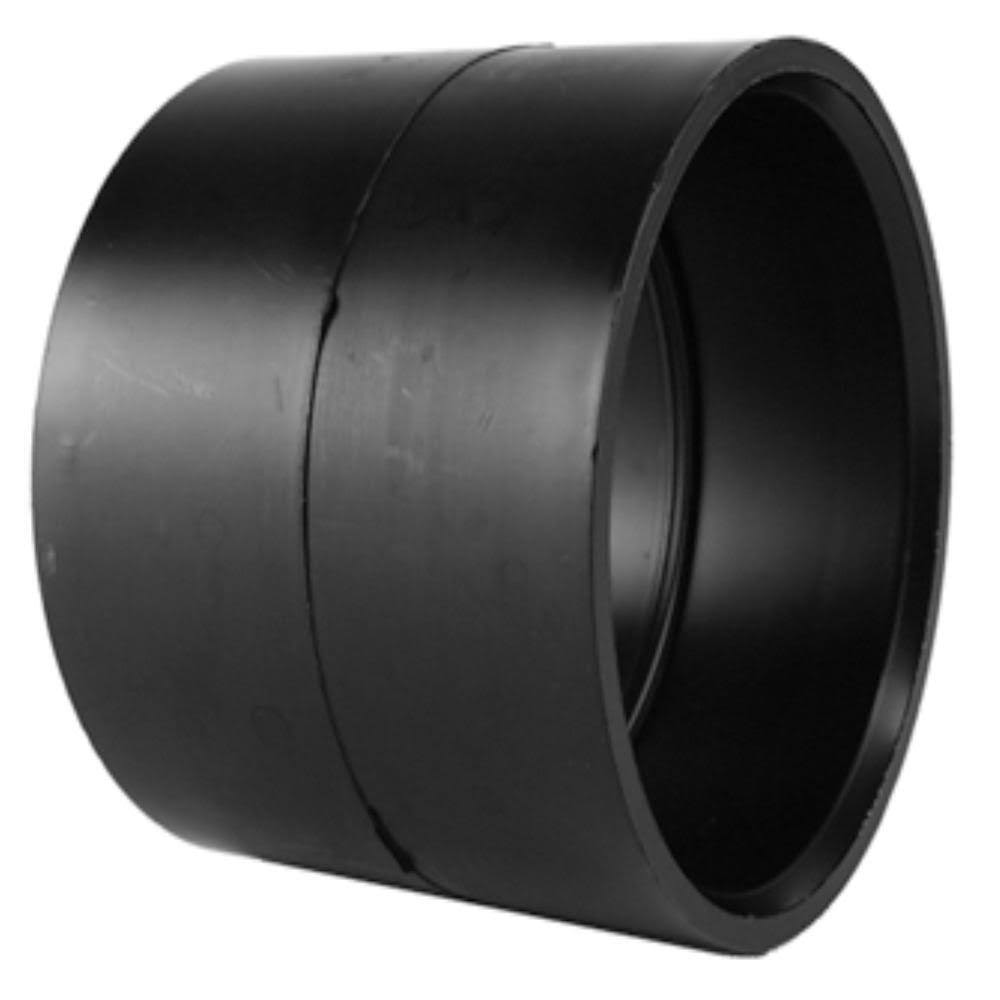 Charlotte Pipe Coupling - Black, 7.6cm