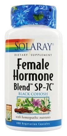 Solaray Female Hormone Blend SP-7C - 100 Vcaps