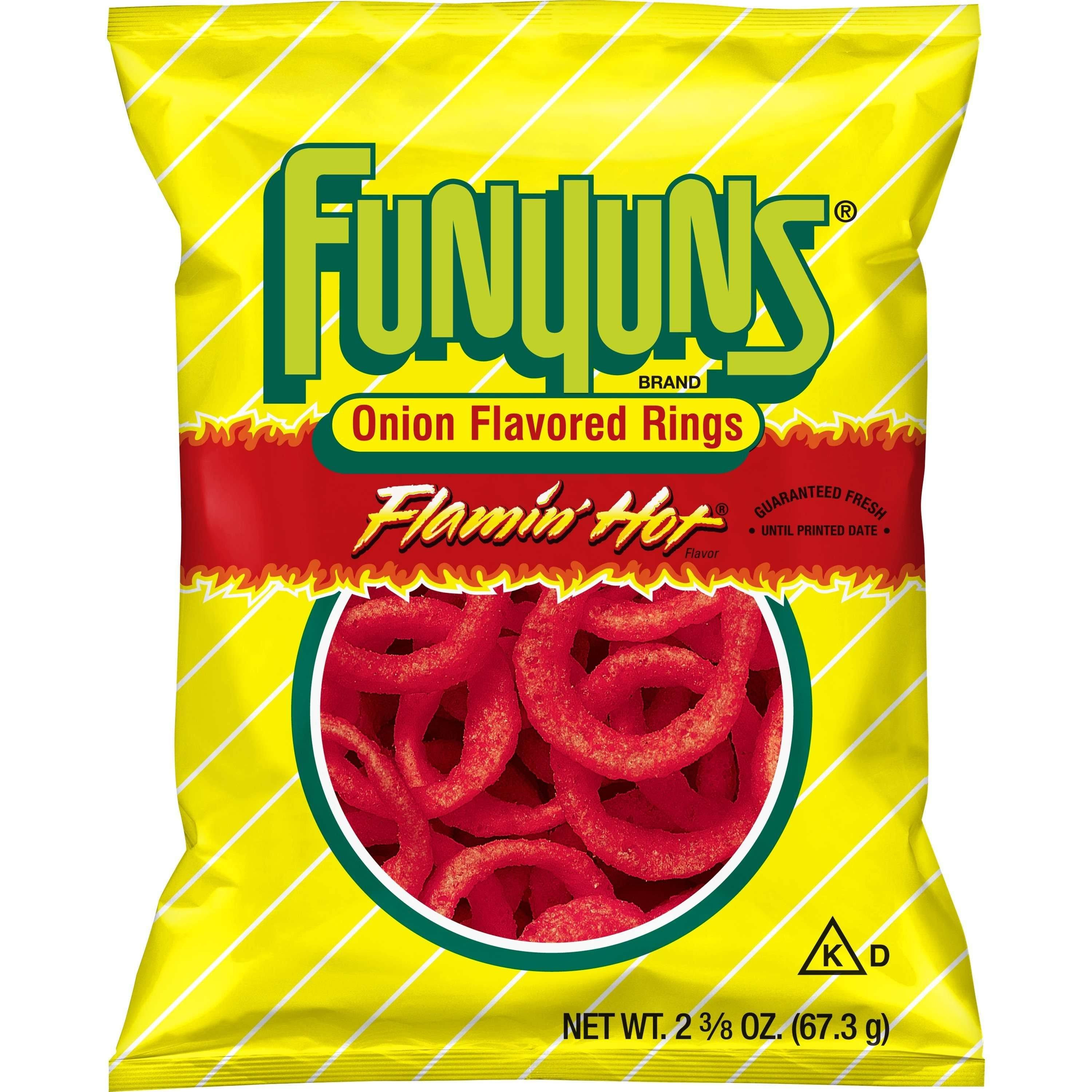 Funyuns Onion Flavored Rings Snack - Flamin' Hot, 2.375oz