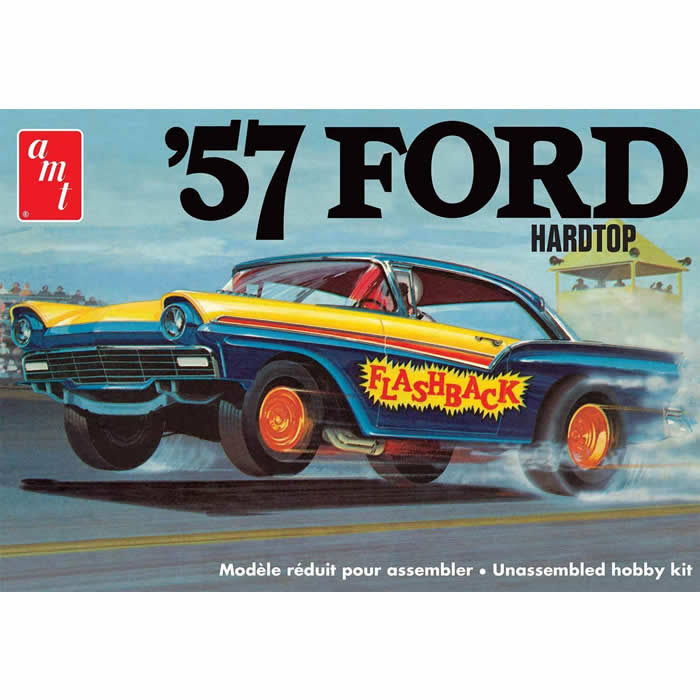 AMT 1957 Ford Hardtop Car Kit - 1:25 Scale