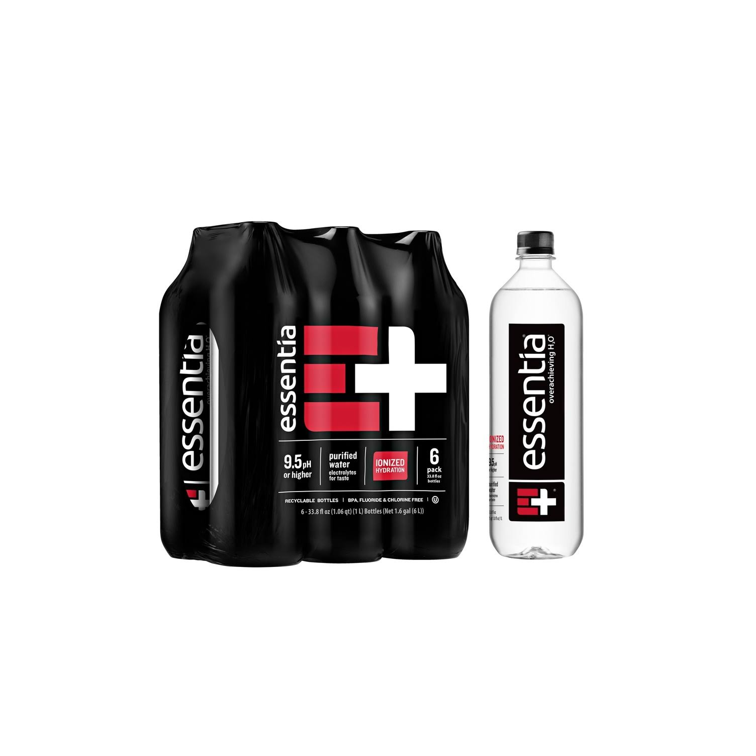 Essentia Super Hydrating Water - 1l, x6