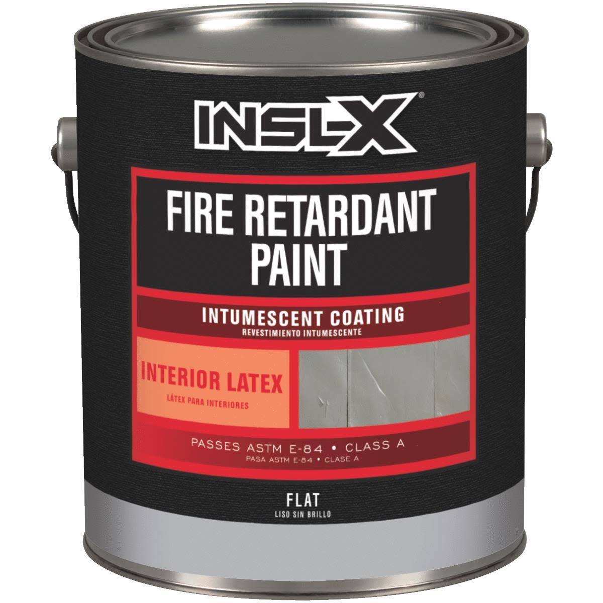 Insl-X Fire Retardant Interior Wall Paint 1 gal., White
