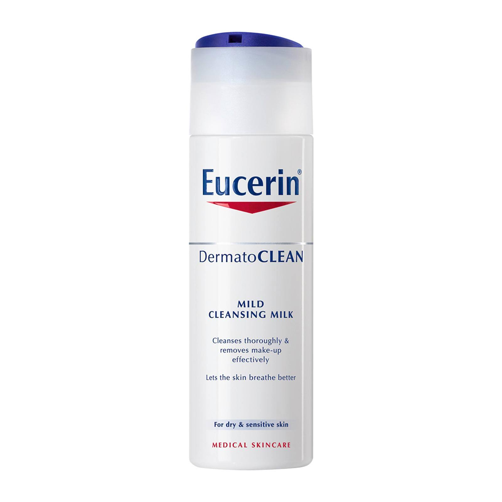 Eucerin DermatoClean Cleansing Milk - Mild, 200ml