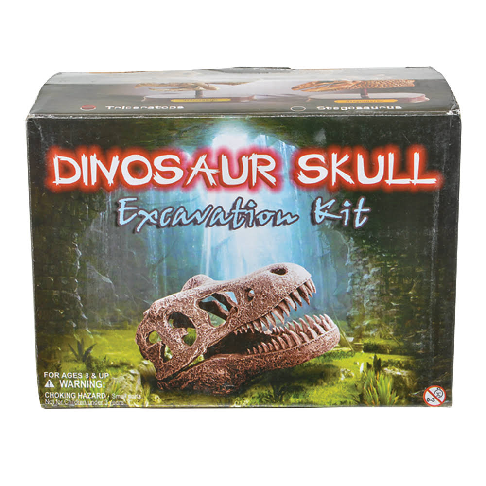 "Adventure Planet 6.5"" Triceratops Skull Excavation"