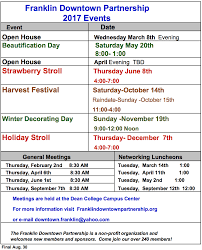 Milford Pumpkin Fest Schedule by Franklin Downtown Partnership Events