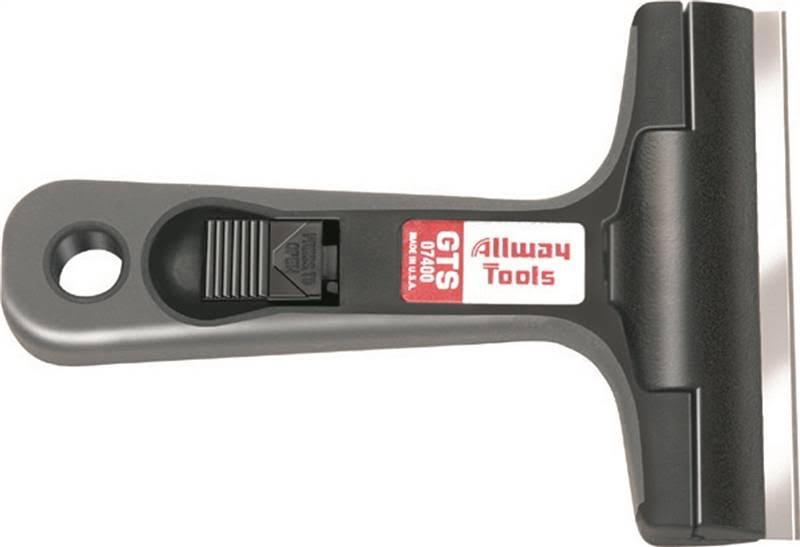 Allway Tools Soft-Grip Glass and Tile Scraper