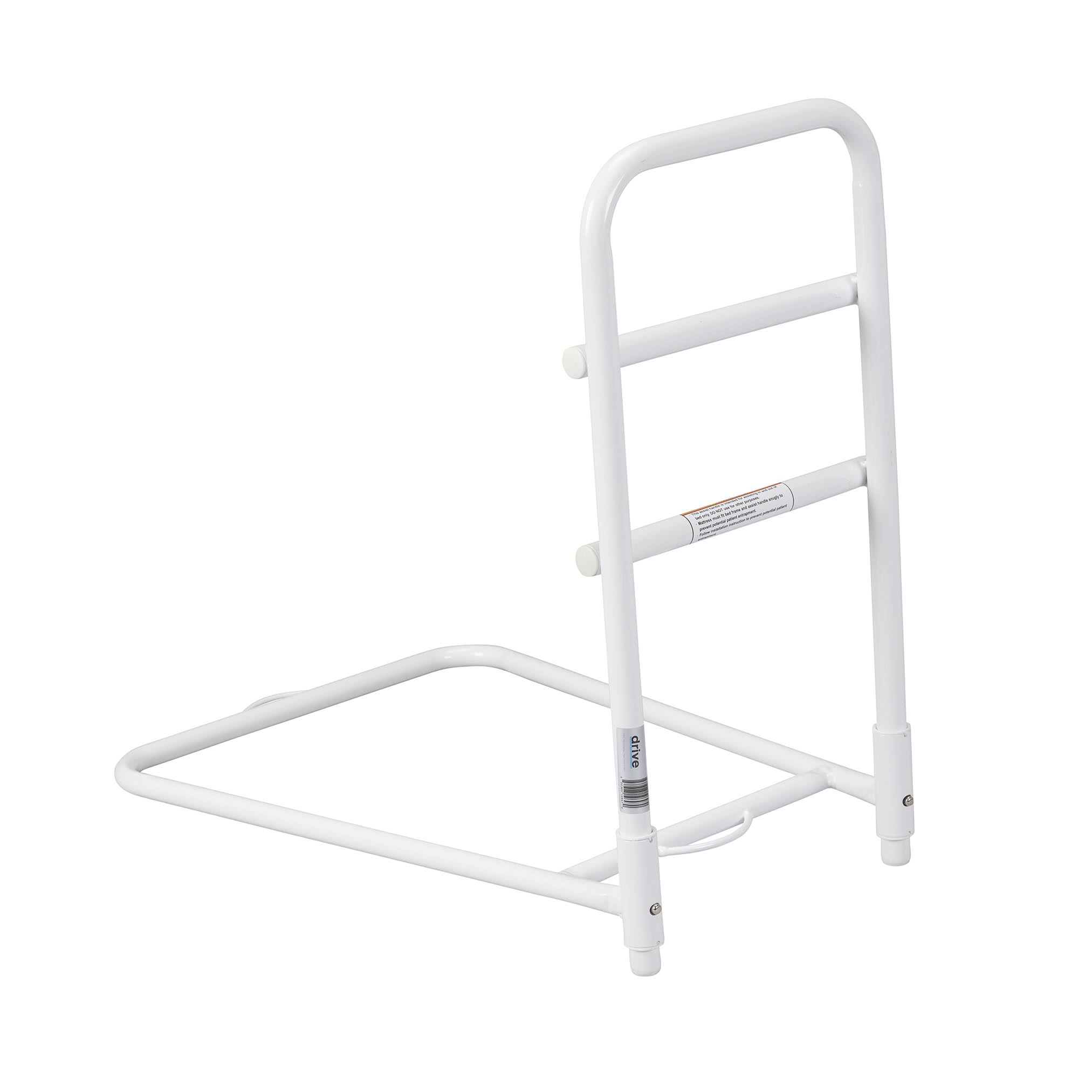 Drive Medical Home Bed Assist Rail - White