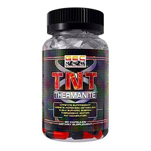 GEC TNT-THERMANITE Fat BURNER,THERMOGENIC, Appetite