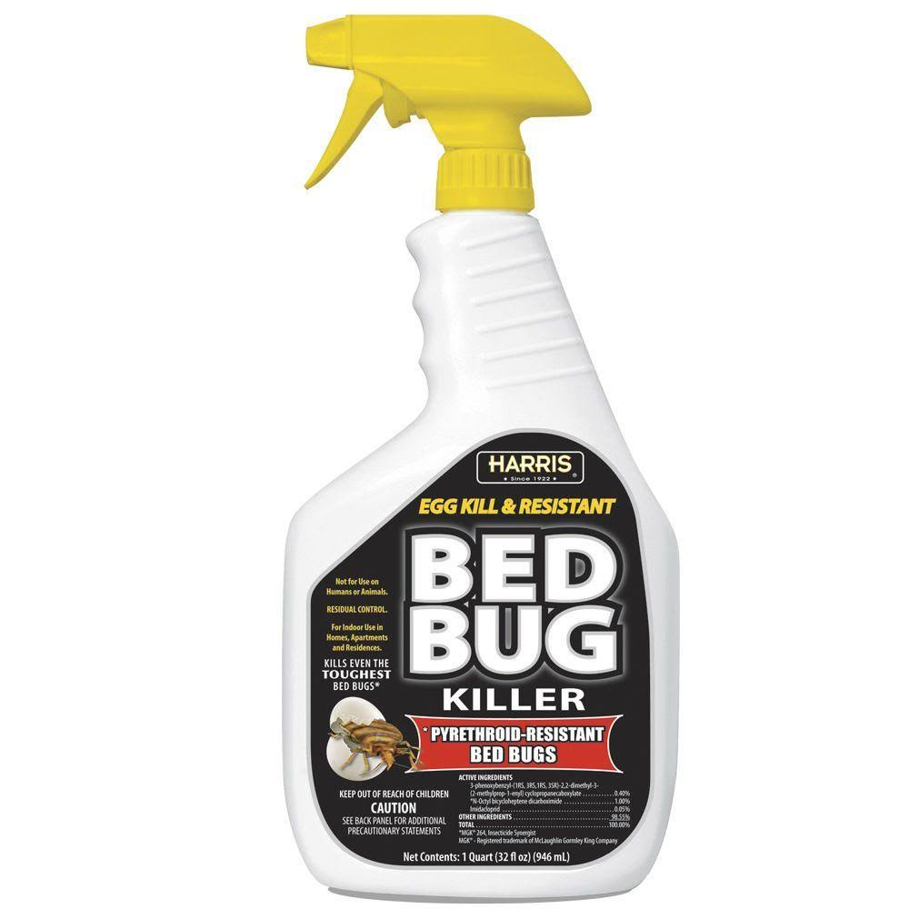 Harris Egg Kill & Resistant Bed Bug Killer Liquid Spray - 32oz