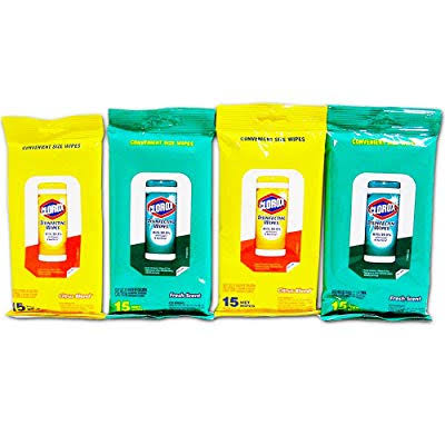 Clorox Disinfecting Wipes Travel Size - Fresh Scent