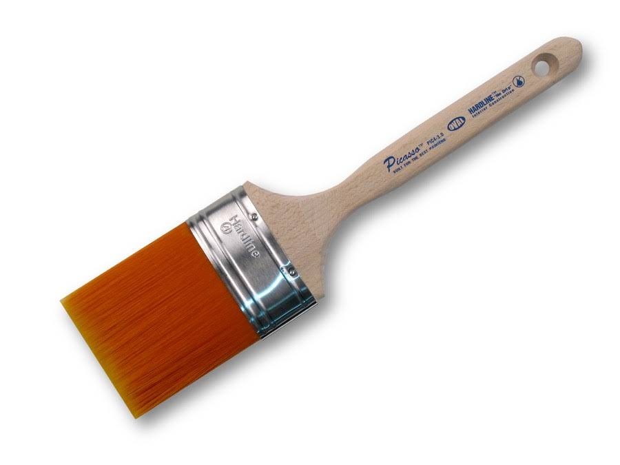 Proform Technologies Picasso Oval Straight Cut Paint Brush - 3""