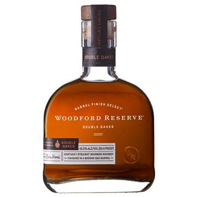 Woodford Reserve Double Oaked Bourbon, Kentucky Straight Bourbon Whiskey - 375 ml