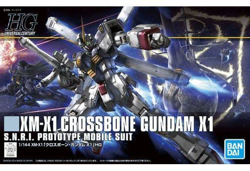 Bandai #187 Crossbone Gundam X1 HGUC Model Kit Crossbone Gundam 5056835