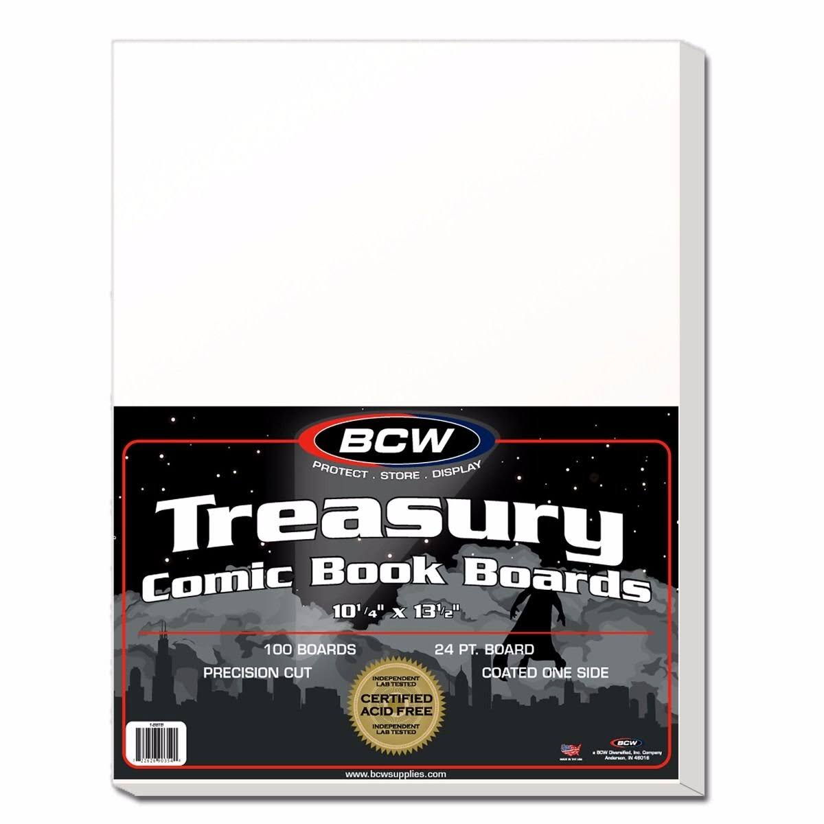 Treasury Backing Boards, Size: One Size