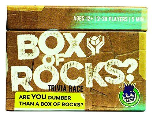 Haywire Box of Rocks Game
