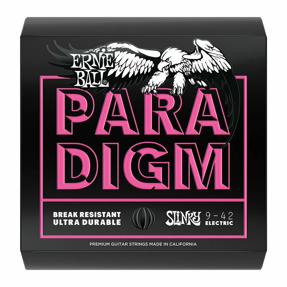 Ernie Ball 2023 Paradigm Electric Guitar String - Super Slinky