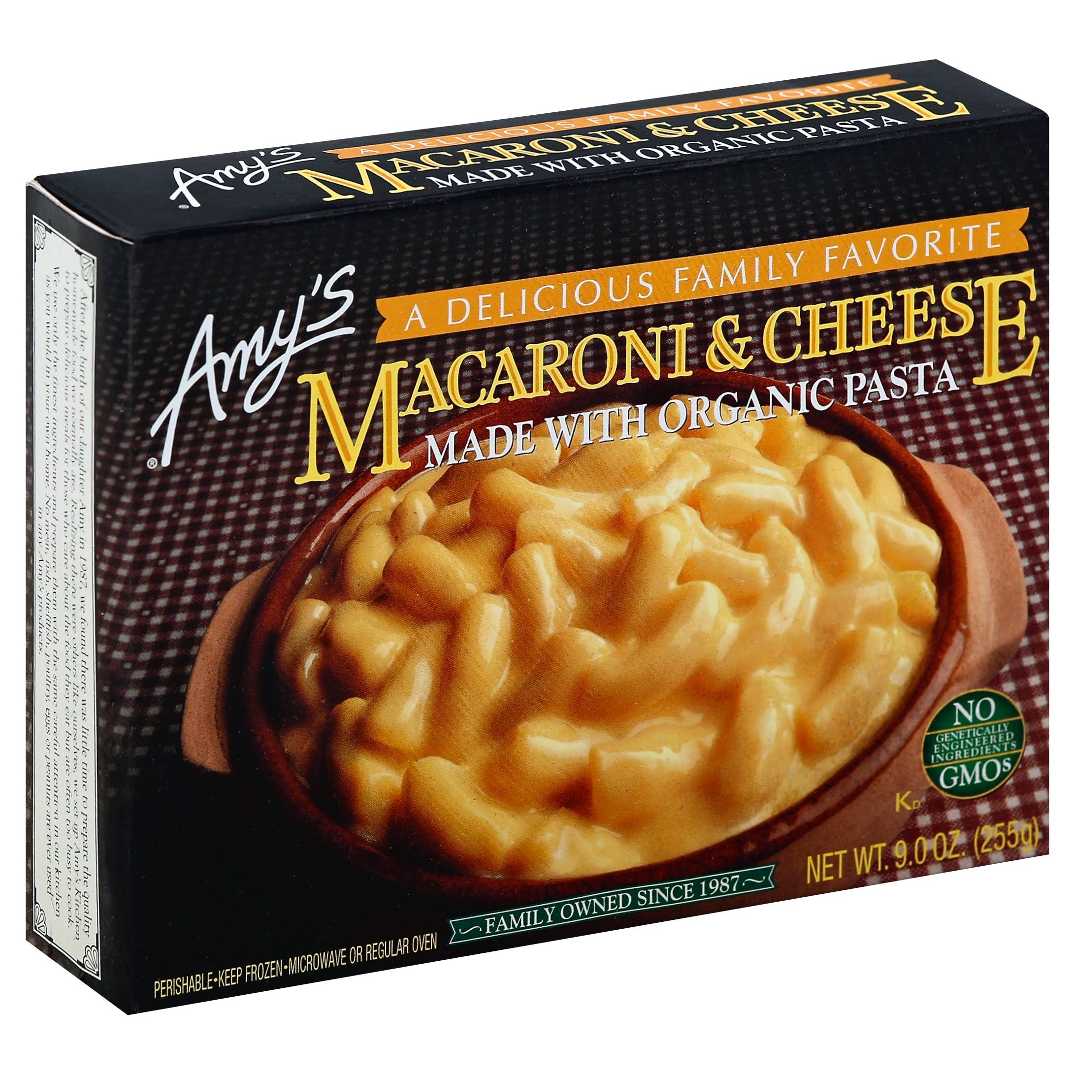 Amy's Organic Macaroni and Cheese - Organic, 9oz