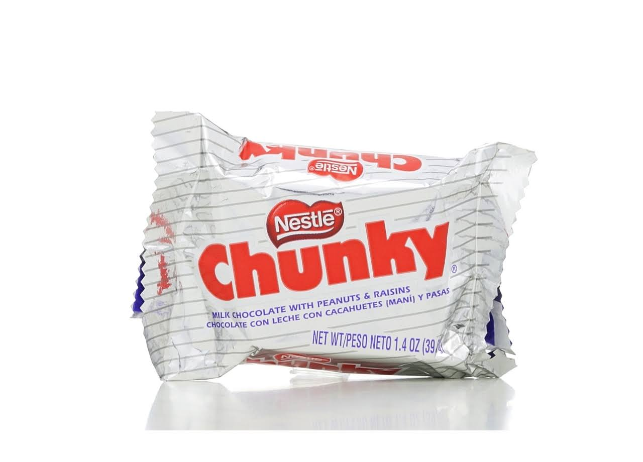 Nestle Chunky Milk Chocolate Bar
