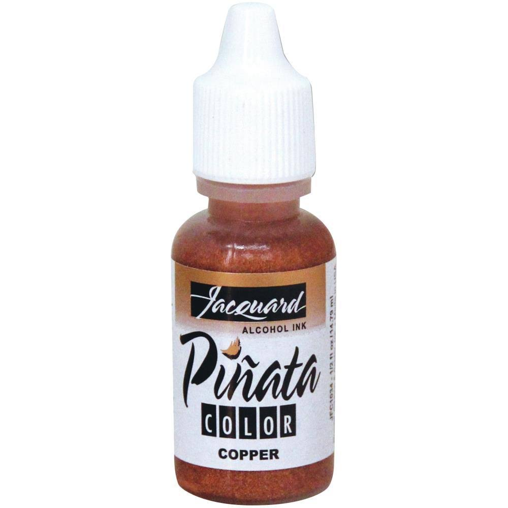 Jacquard Pinata Color Alcohol Ink .5oz-Copper