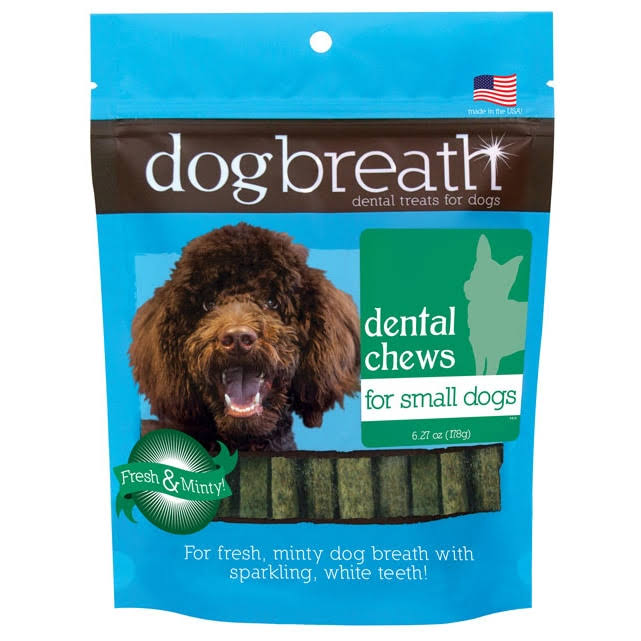 Herbsmith Dog Breath Dental Chews - Small Dogs, 30 Count