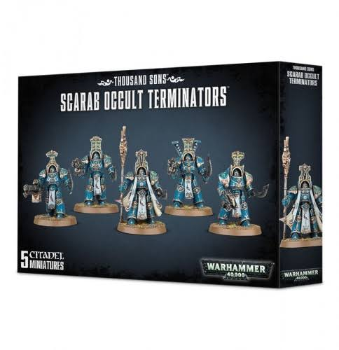 Warhammer Thousand Sons Scarab Occult Terminators