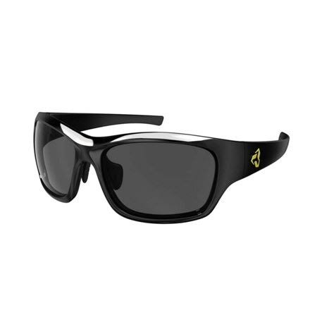 Ryders Eyewear Khyber Sunglasses - Black, Gray Lens