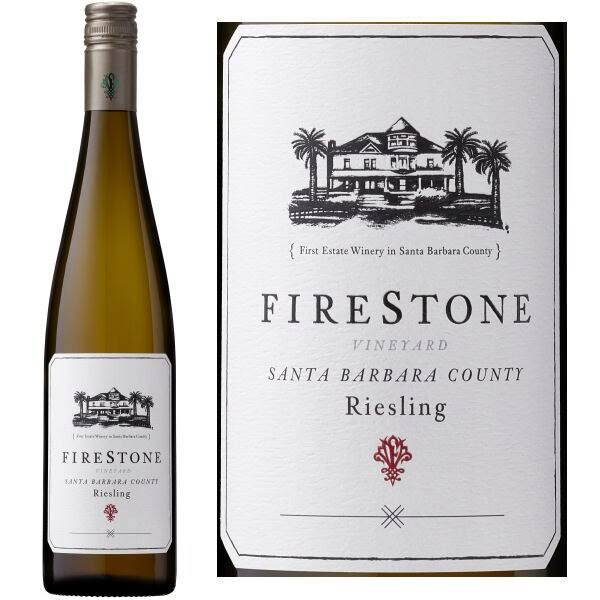 Firestone Riesling, California (Vintage Varies) - 750 ml bottle
