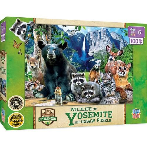 Masterpieces Jr Ranger - Yosemite National Park 100pc Puzzle