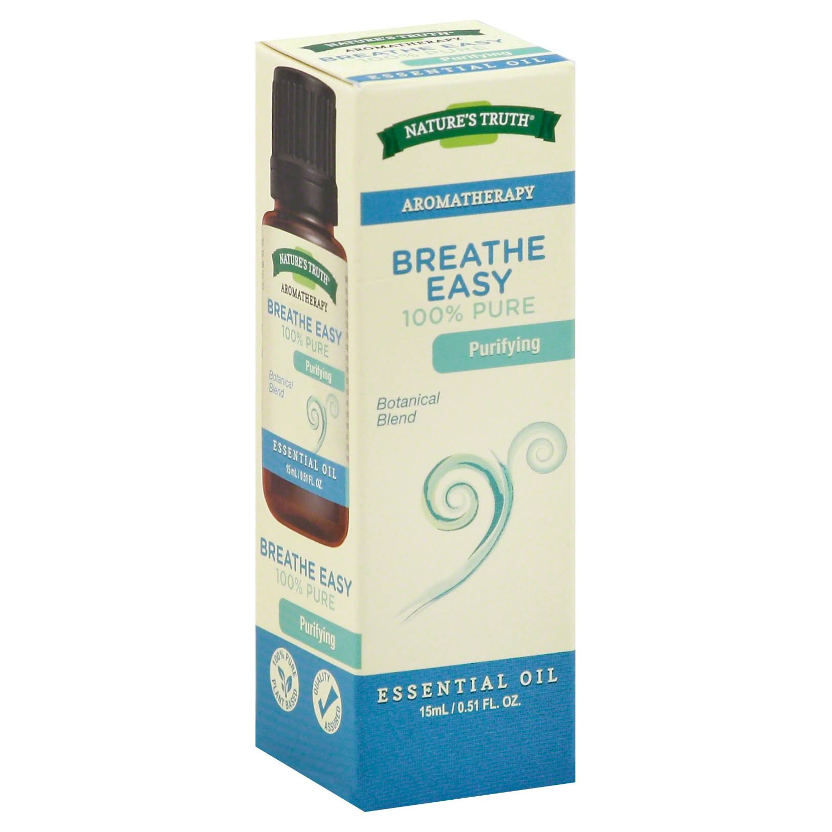 Natures Truth Essential Oil - Breathe Easy, 0.51oz