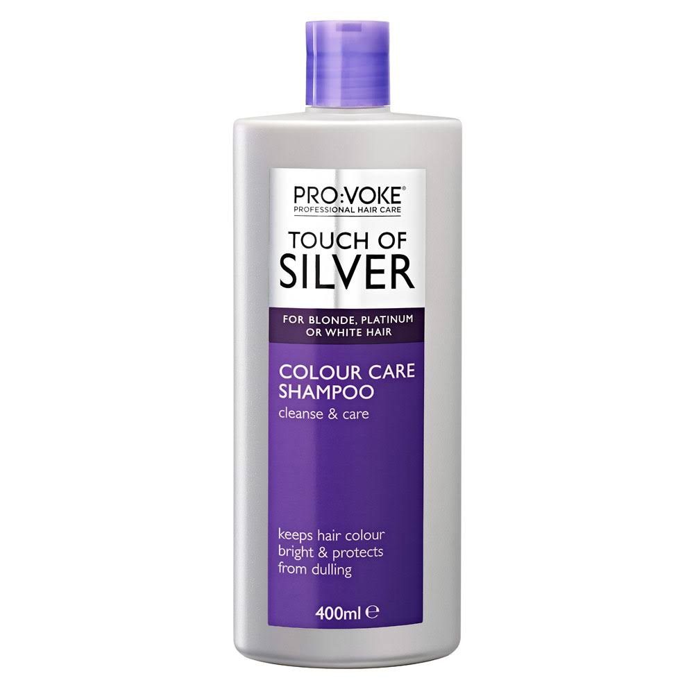 Pro:Voke Touch Of Silver Colour Care Shampoo - 400ml