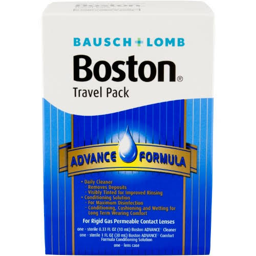 Boston Advance Comfort Formula for Rigid Contact Lenses - Travel Pack