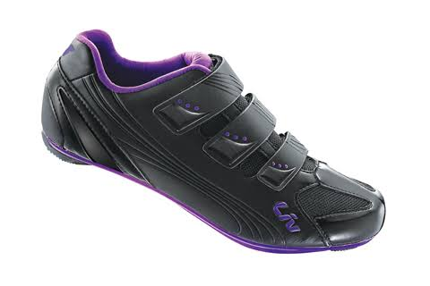 Liv Regalo Road Shoe - Women's - Black/Purple - 39