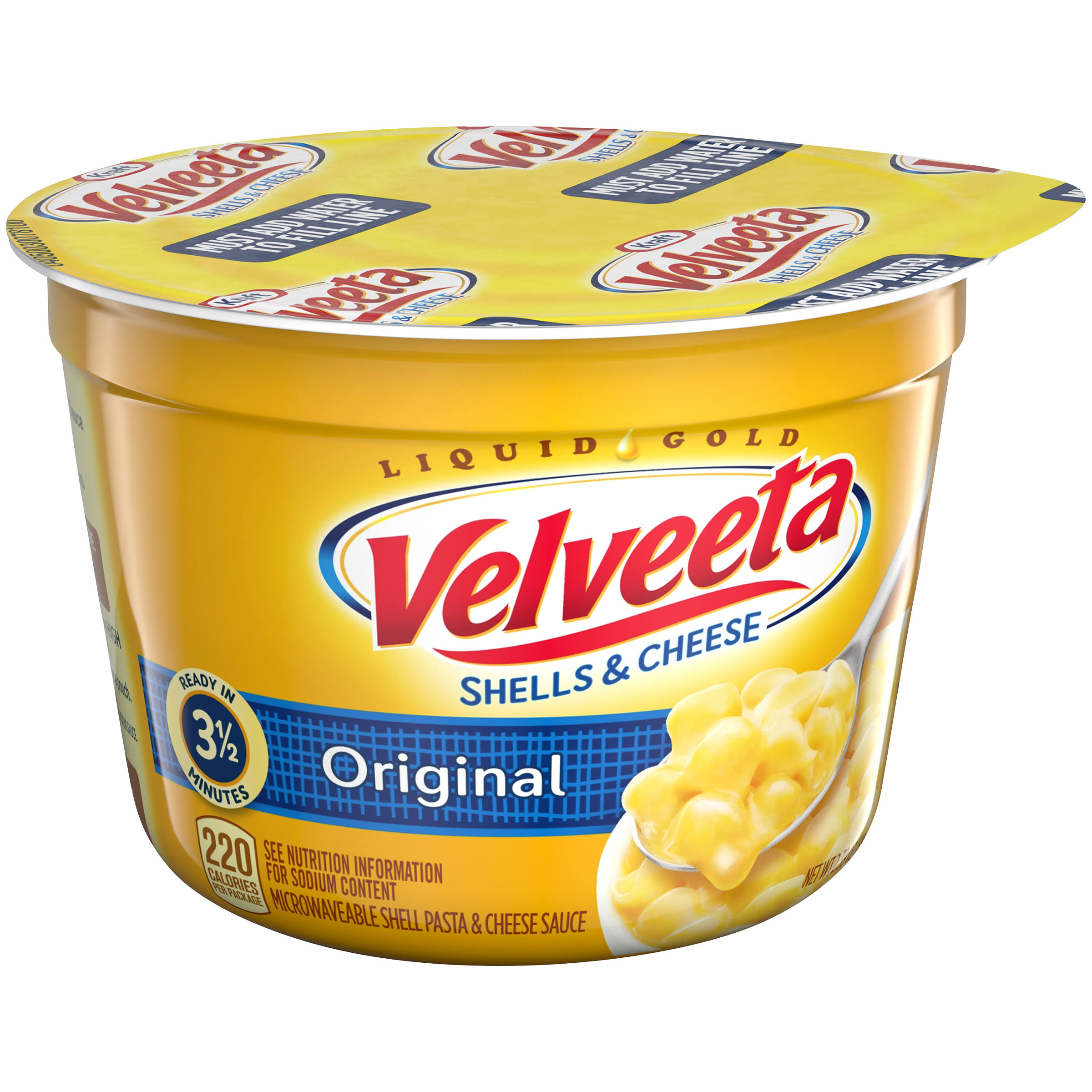 Kraft Velveeta Original Shells & Cheese - 2.39oz