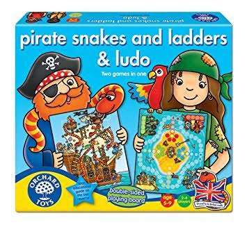 Orchard Toys Pirates Snakes & Ladders & Ludo