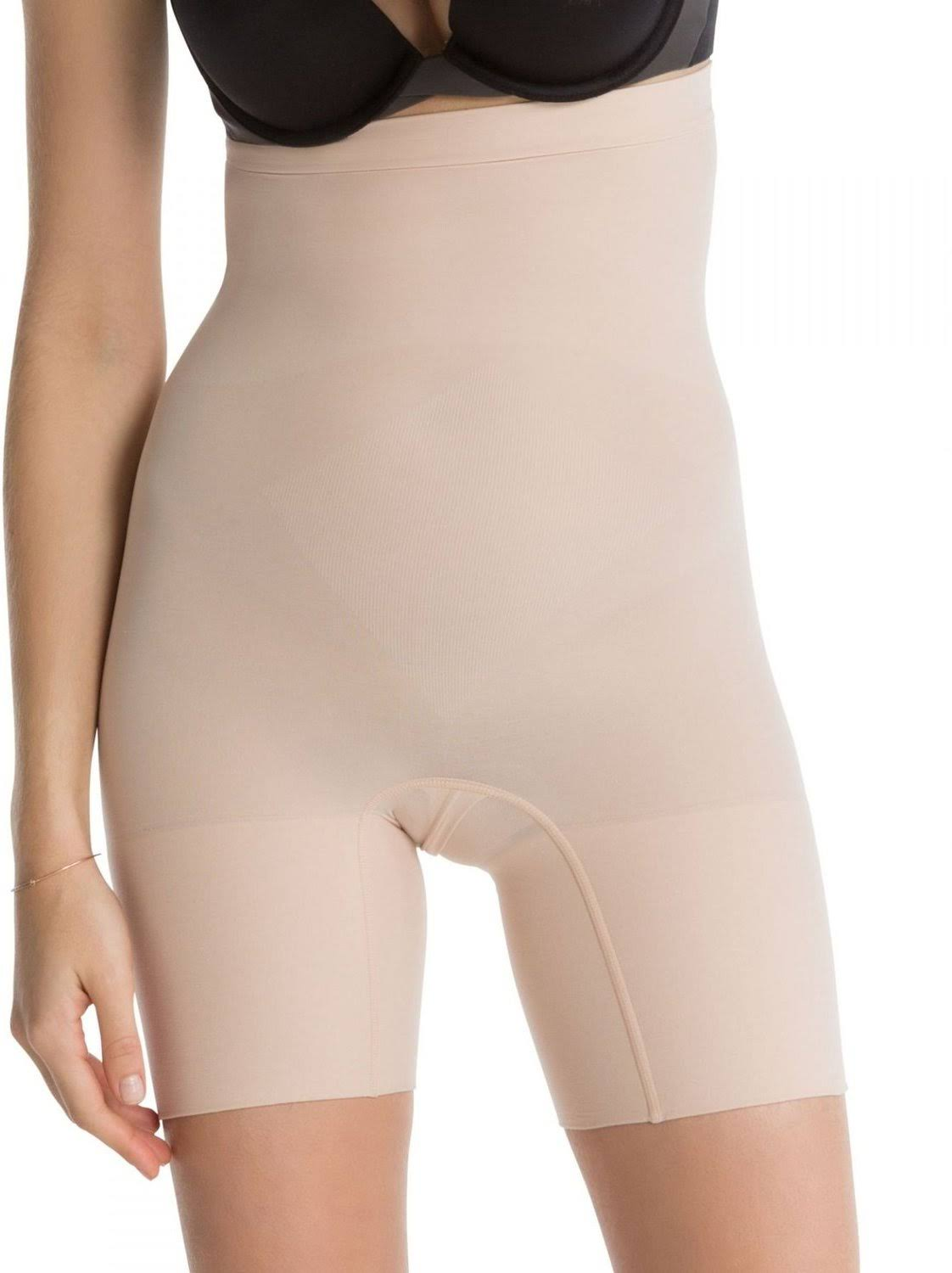 Spanx Women's Higher Power Shorts - Soft Nude, Medium