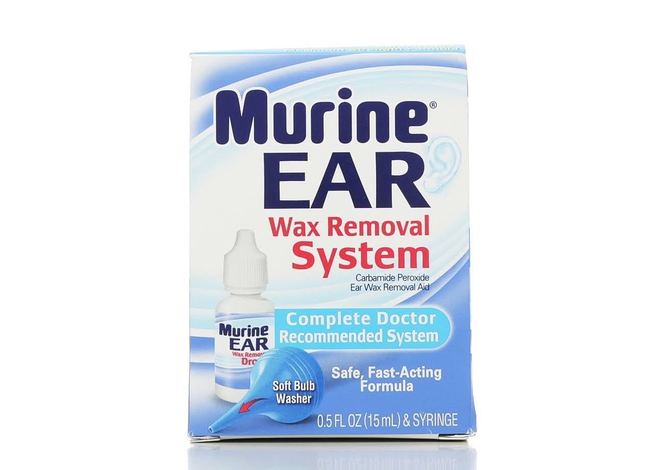 Murine Ear Wax Removal System - Syringe and 15ml Wax Removal Aid