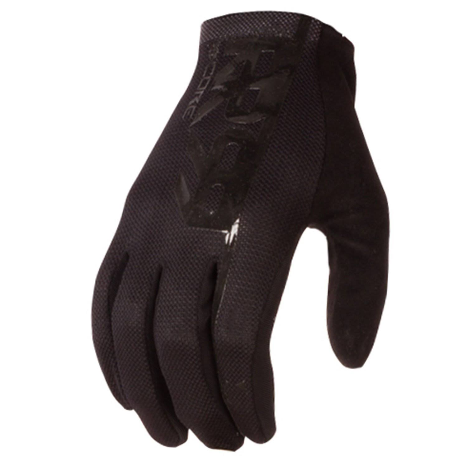 Royal Racing Core Gloves, Black/Black, Medium