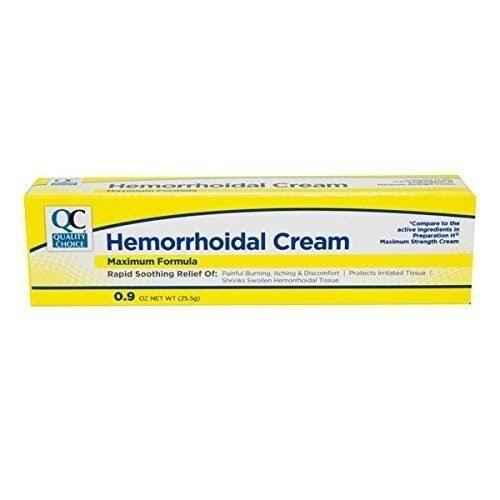 Quality Choice Hemorrhoidal Cream Maximum Formula 0.9oz Each (1)