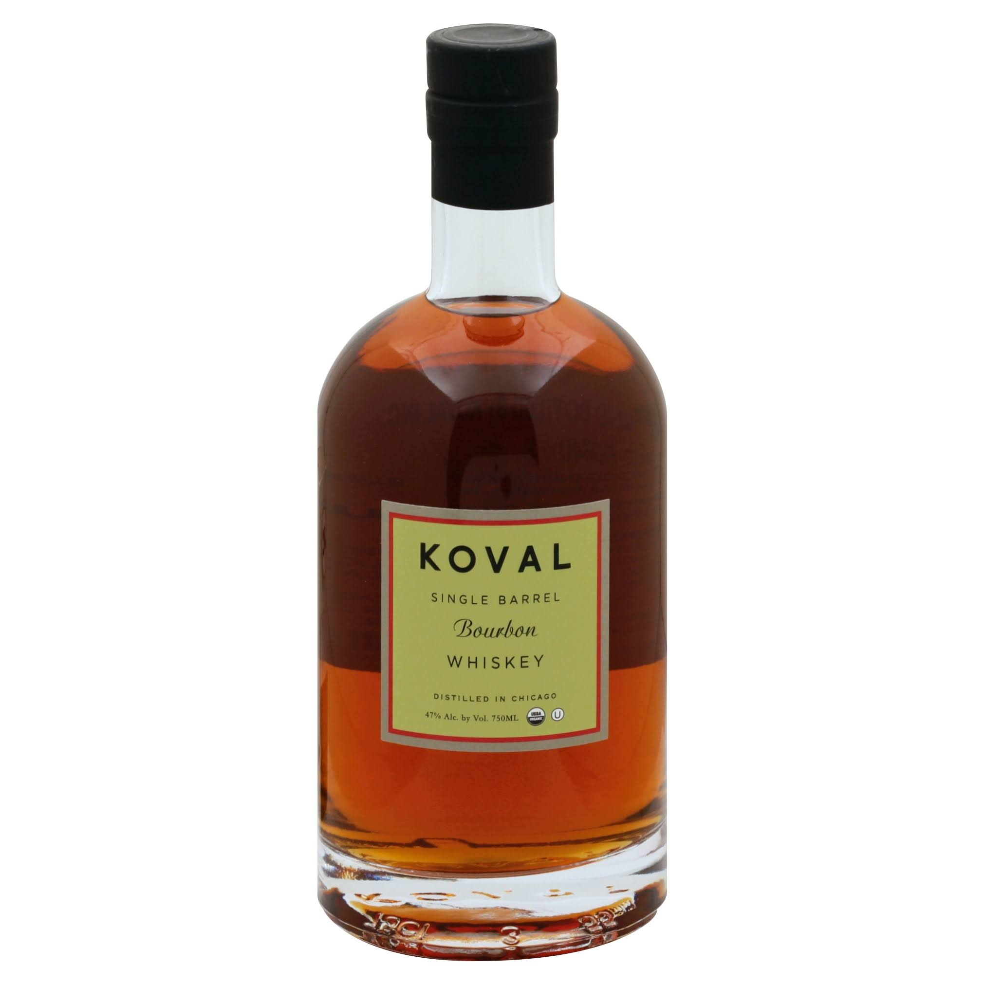 Koval Whiskey, Bourbon, Single Barrel - 750 ml