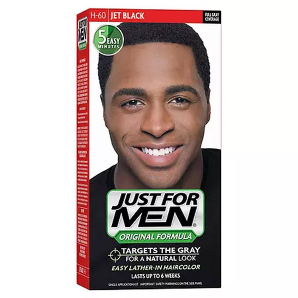Just For Men Shampoo-In Hair Color - Jet Black