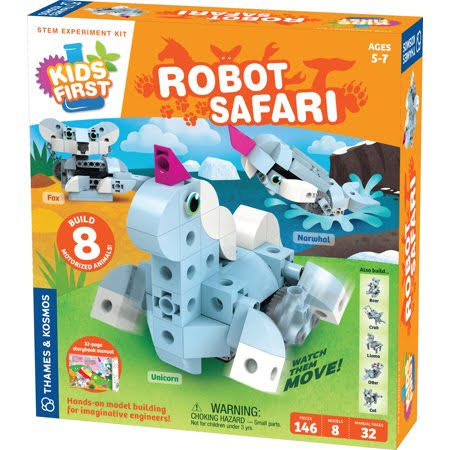 Kids First Robot Safari, Introduction to Motorized Machines