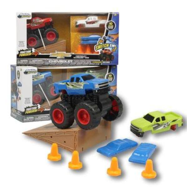 Ddi Chevy Monster Maniacs Trucks Toy Play Set