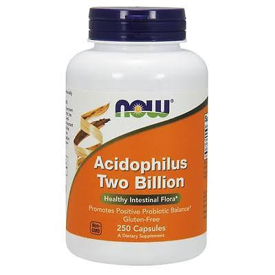 Now Foods Acidophilus Two Billion Dietary Supplement - 250 Capsules